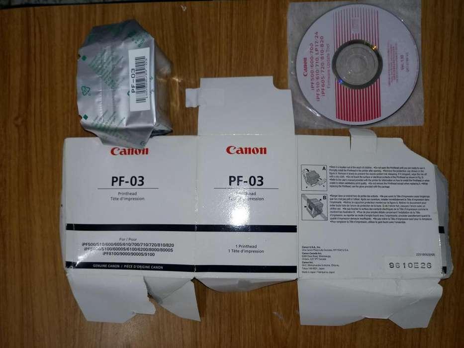 Canon Printhead (cabezal de impresión) PF-03