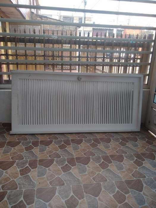 Puerta Metálica con Marco de 1x2.20