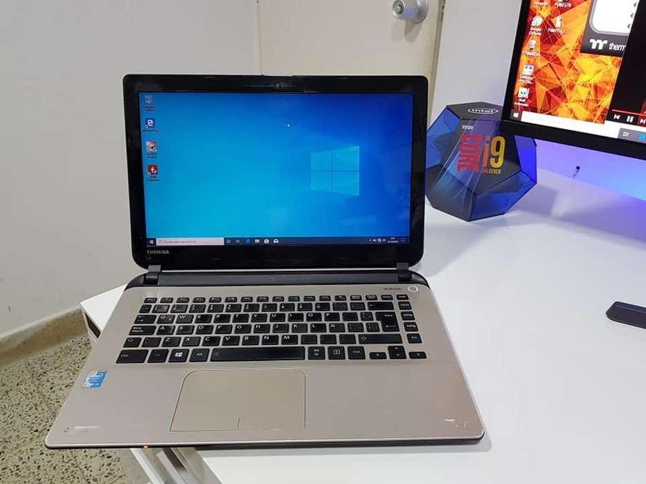 PORTATIL TOSHIBA i5 4ta To 2.70GHZ, 500GB DISCO, 4GB RAM, UNIDAD DE DVD CON QUEMADOR