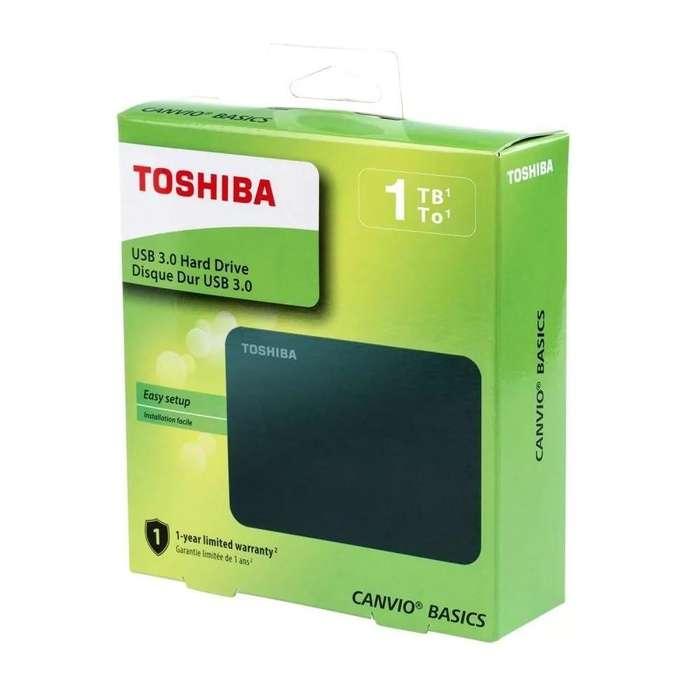 TOSHIBA EXTERNO 1 TERA CANVIO 2.5
