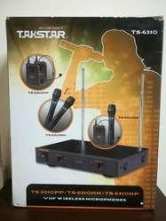 Microfónos Inhalambrico Talkstar Ts-6310