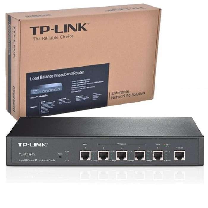 Router De Banda Ancha Con Balance De Carga Tp-link Tl-r480t