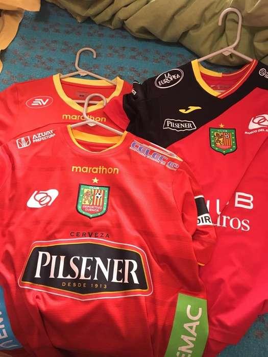 Camisetas Deportivo Cuenca