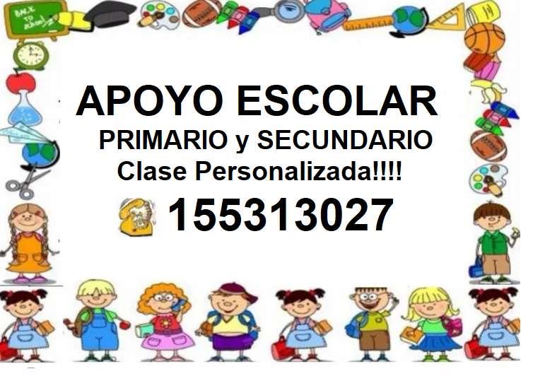 CLASES PARTICULARES PRIMARIO, SECUNDARIO, UNIVERSITARIO