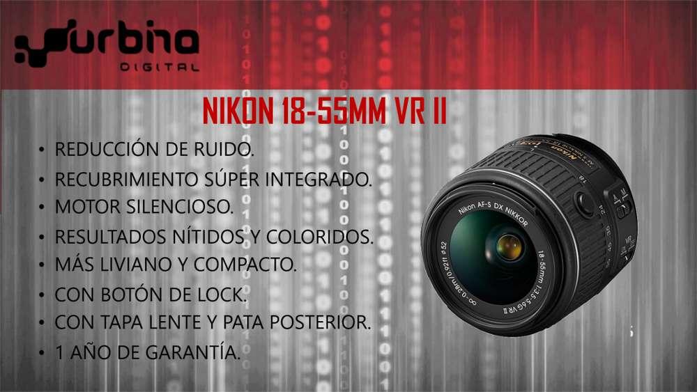 Lente Nikon 1855mm Vrii