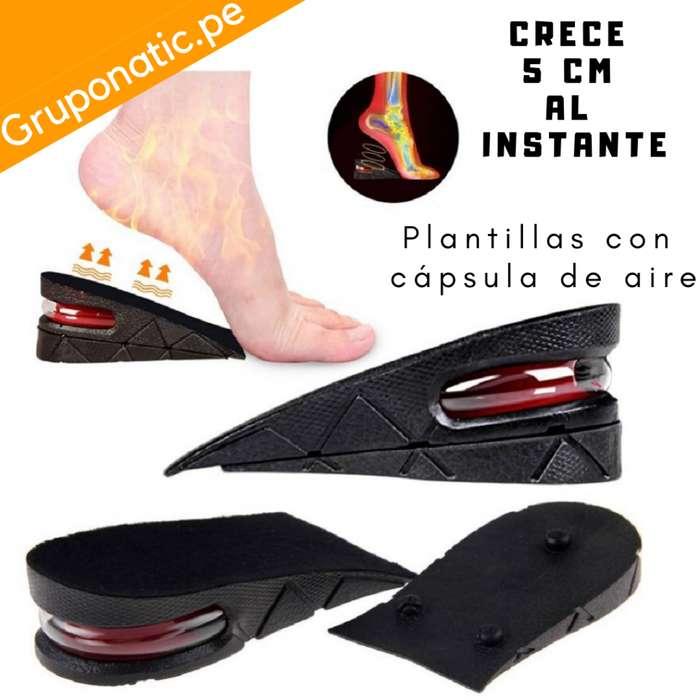 Plantilla Elevadora Capsula De Aire Zapato 5 Cm Gruponatic San Miguel Surquillo La Molina Independencia 941439370
