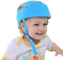 Casco Protector Para Bebe Protección Antigolpes Ajustable