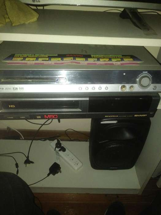 Dvd Home Theater Sanyo Y Video-casetera