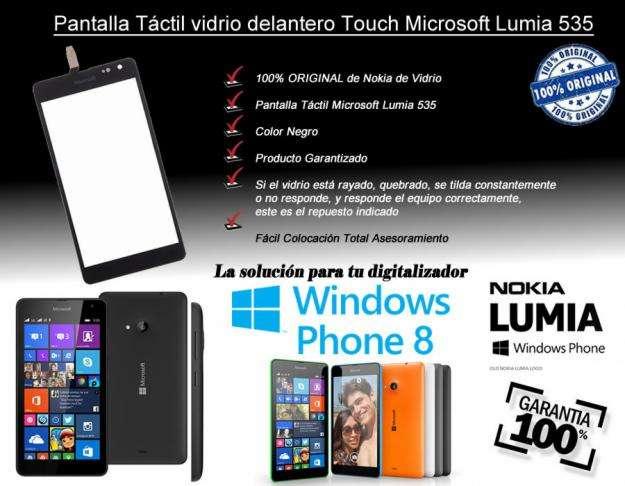 Pantalla tactil vidrio touch microsoft Nokia 535 Original