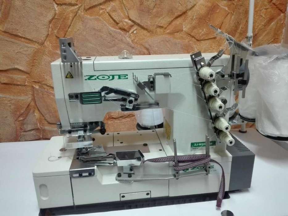 Máquina de Coser Recubridora Marca Zoje