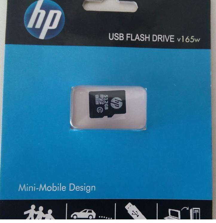 Microsd 512gb HP clase 10 nueva blister cerrado Garantía