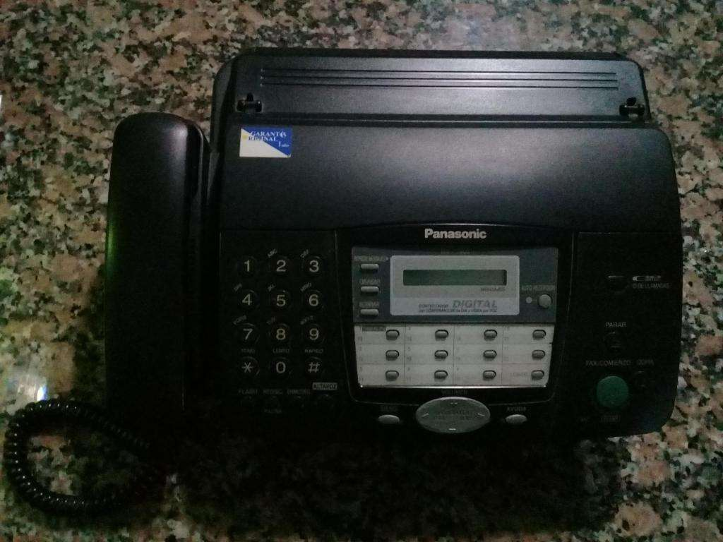 Vendo Teléfono Fax Panasonic