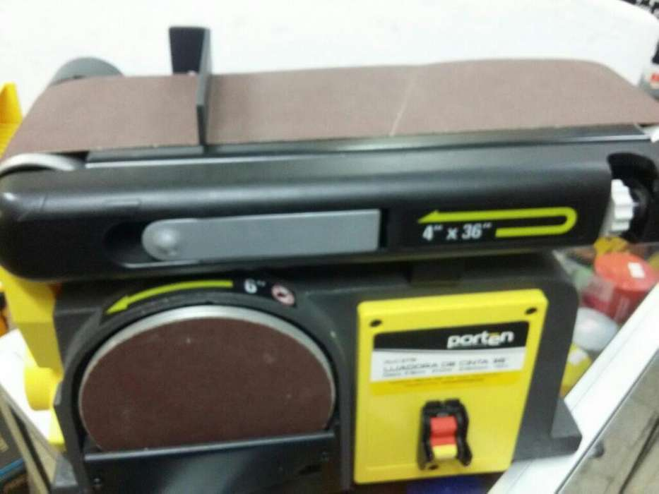 Lijadora Porten 370w 110v Banda Y Disco