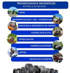 Camaras de Aire para Maquinas Viales, Palas Chinas, Tractores, Minitractores