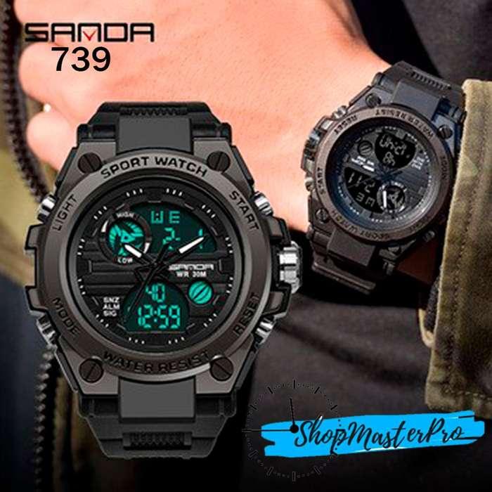Reloj para Hombre Sanda Dual Time