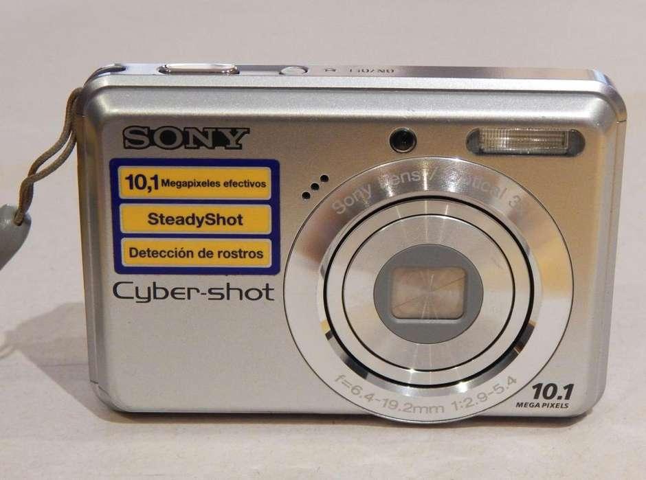 Cámara Digital Sony Cybershot 10.1 Mp