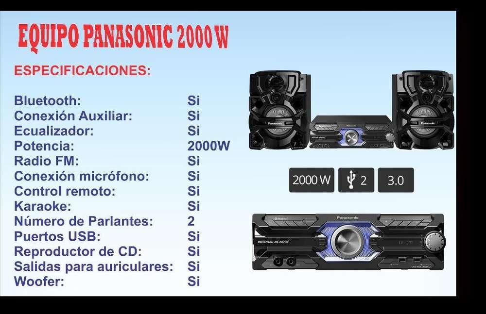 Equipo de Sonido Panasonic de 2000 W