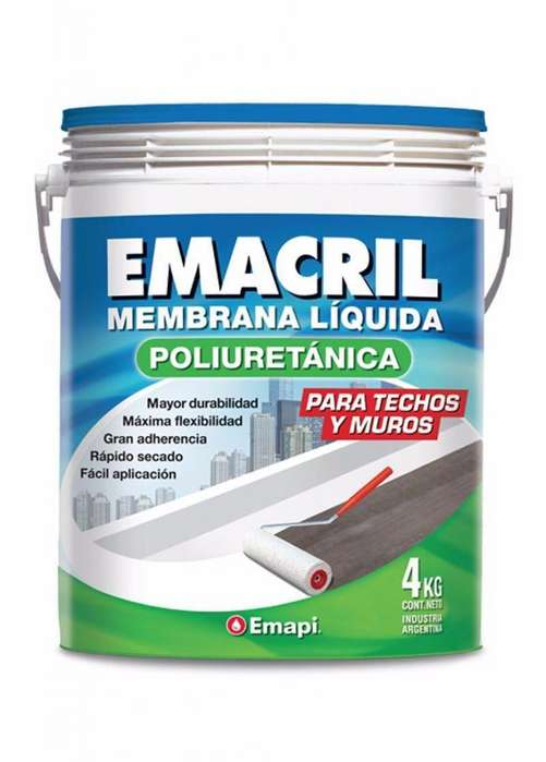 MEMBRANA LIQUIDA POLIURETANICA EMACRIL
