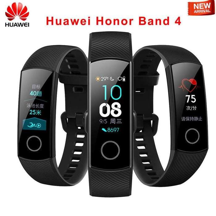 Huawei Honor Band 4 Pulsera Inteligente Original Amoled Domicilios.