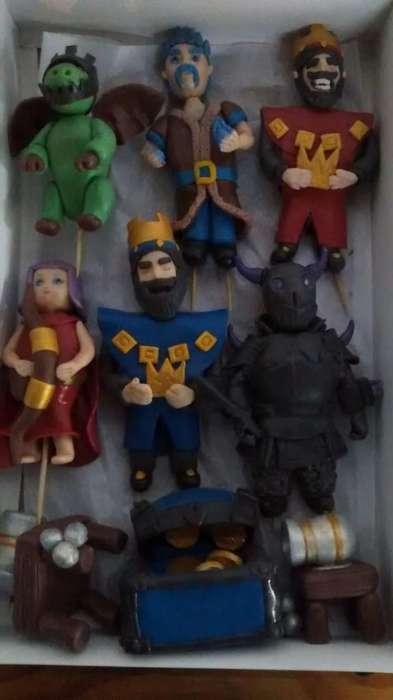 Personajes en Porcelana Fría