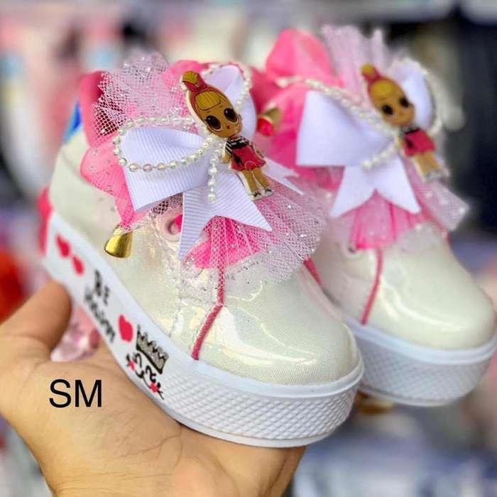 Zapatos de Niña Mickey Y Lol Genial