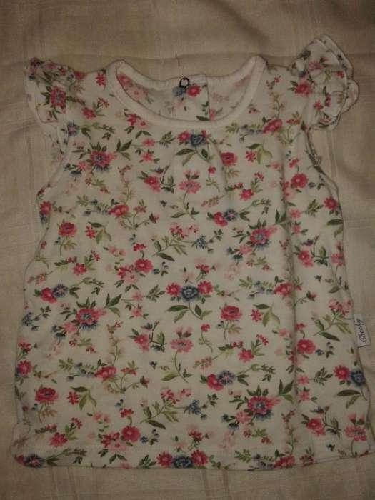 Vestido <strong>cheeky</strong> Baby Talle L 9-12m flor rosa en fondo