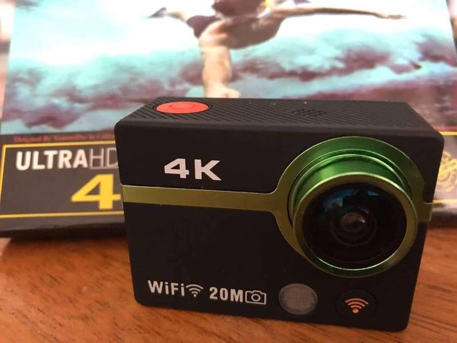 Camara 4 K ultra hd y accesorios