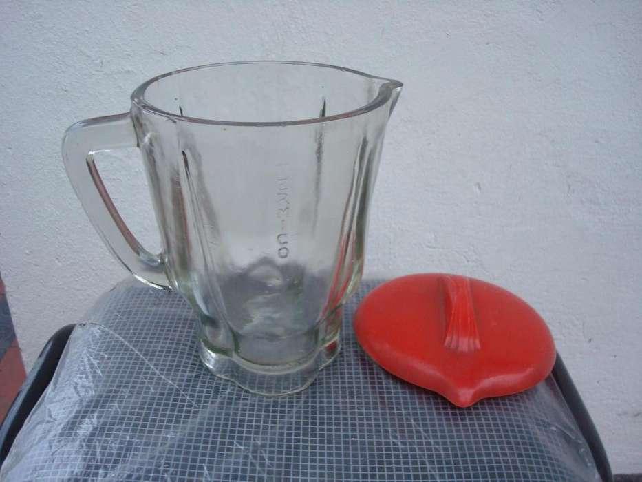 Vasos De Licuadoras Con Tapa y sin cuchilla de vidrio termico