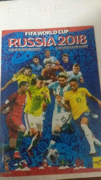 Vendo Álbum Y Láminas Mundial Rusia 2018