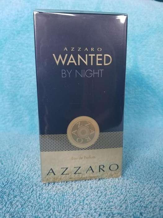 Vendo BARATA! 150mL! Perfume AZZARO WANTED BY NIGTH 100% ORIGINAL (50mL gratis)