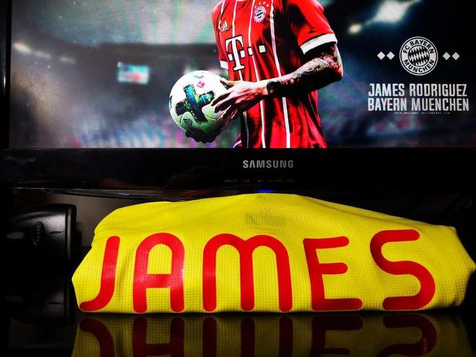 Camiseta James Seleccion Colombia