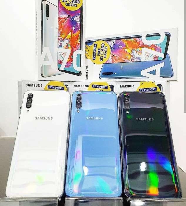 Samsung A70 128 GB Nuevos Sellados