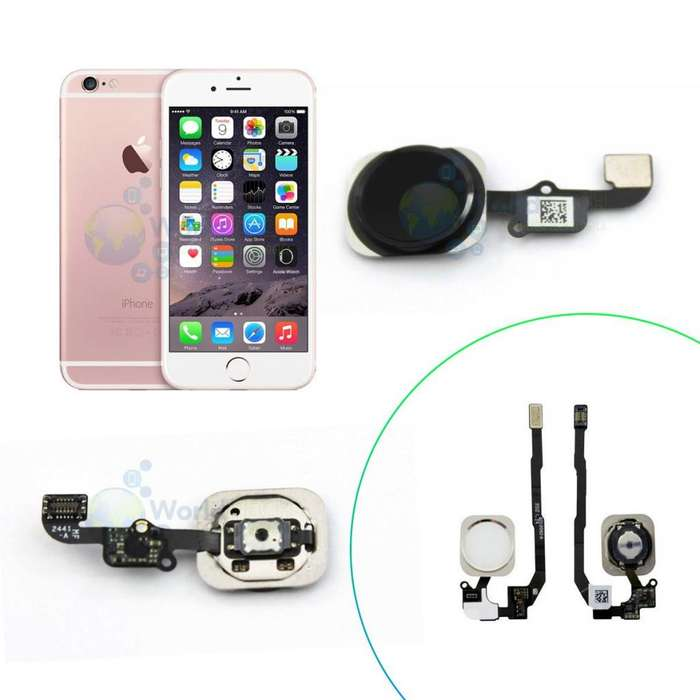 Flex Huella Home Iphone 4 4s 5 5s 5c Se 6 6s Plus 7 Sensor