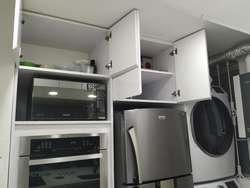 Cocinas integrales y closets con diseño personalizado.