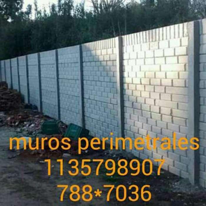 Muros Perimetrales Paredes