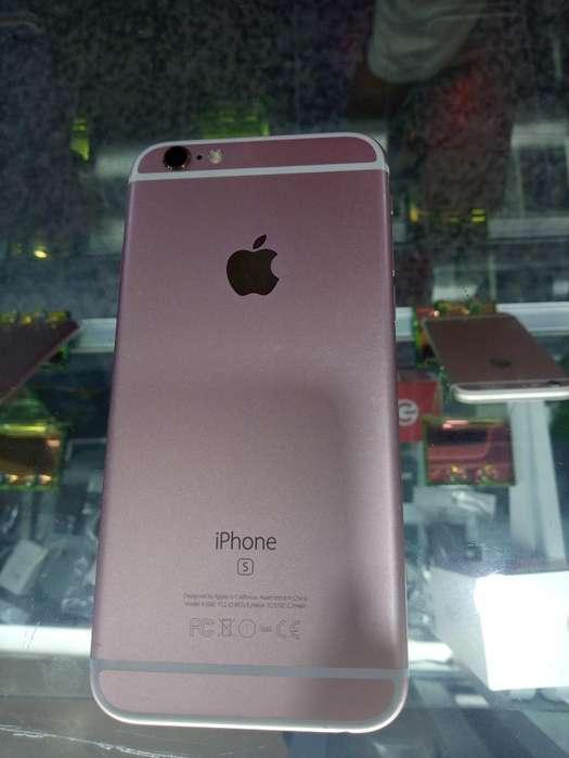 iPhone 6s de 16 Gb con Caja Cargador