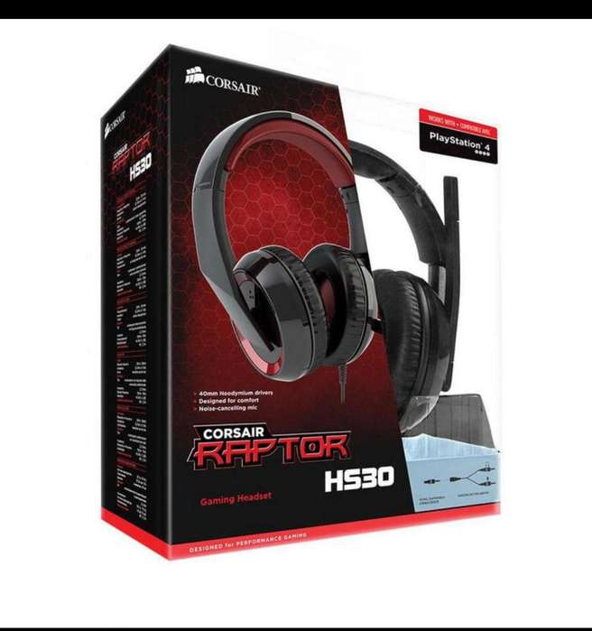 Audifonos Gamer Corsair Hs30