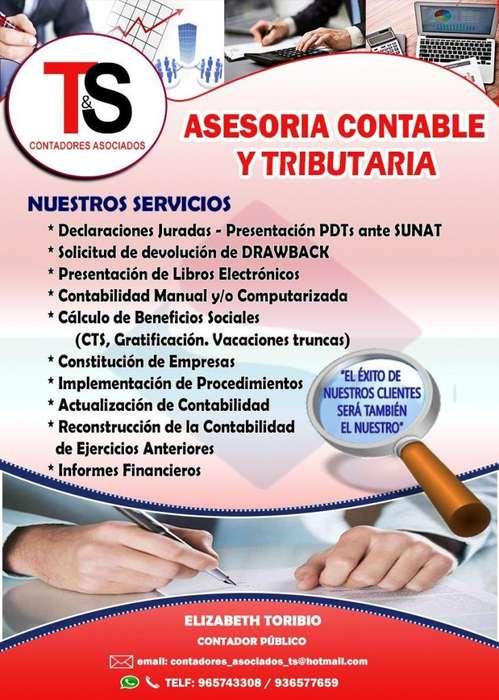 ASESOR CONTABLE - <strong>contador</strong>