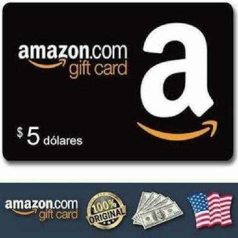 Gift Card Amazon 5