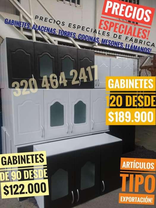 PRECIO INSUPERABLE! GABINETES PARA COCINA PLATERO DIRECTOS DE FABRICA CALI!