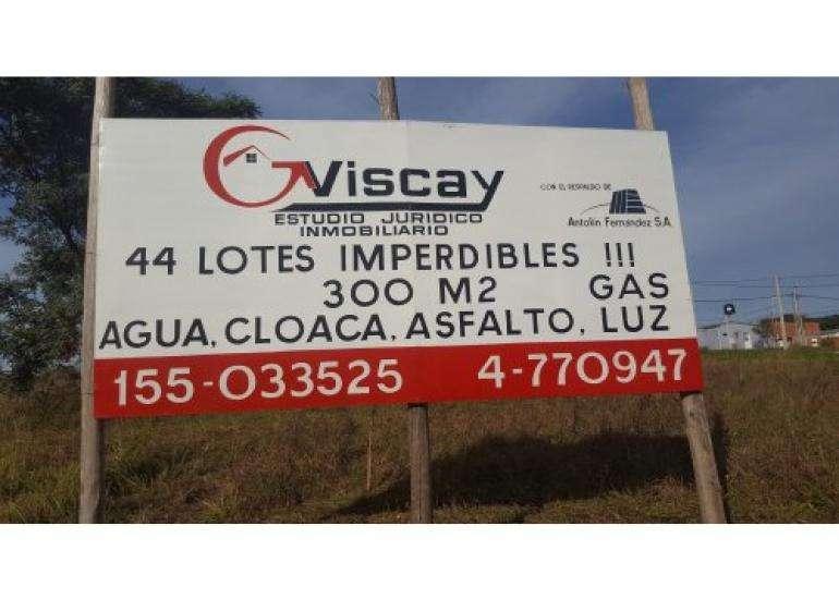 VENDO LOTES EXCELENTES. TODOS LOS SERVICIOS.GAS NAT, CLOACAS