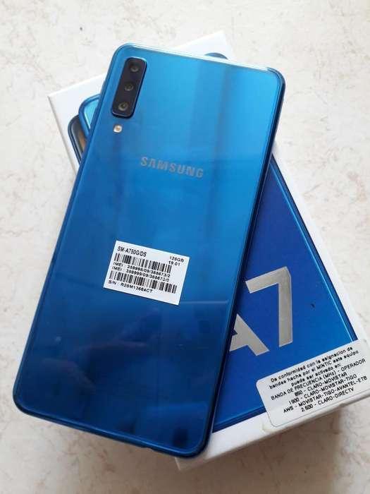 Samsung A7 2018 de 128 Gigas