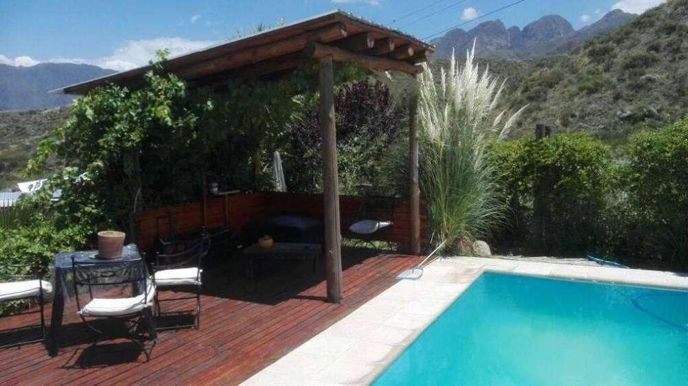 cn07 - Cabaña para 2 a 6 personas con pileta y cochera en Lujan De Cuyo
