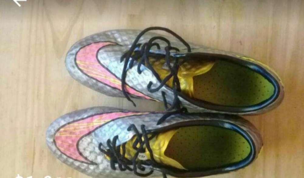 Vendo Botines Nike Usados Buen Estado