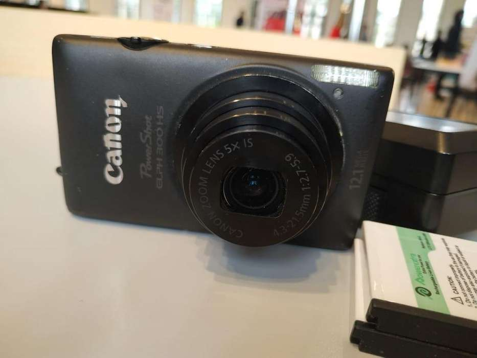 Camara Canon Powershot ELPH 300 HS