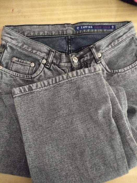 <strong>jeans</strong>. Botones. Oxford. Tiro Alto.t36.