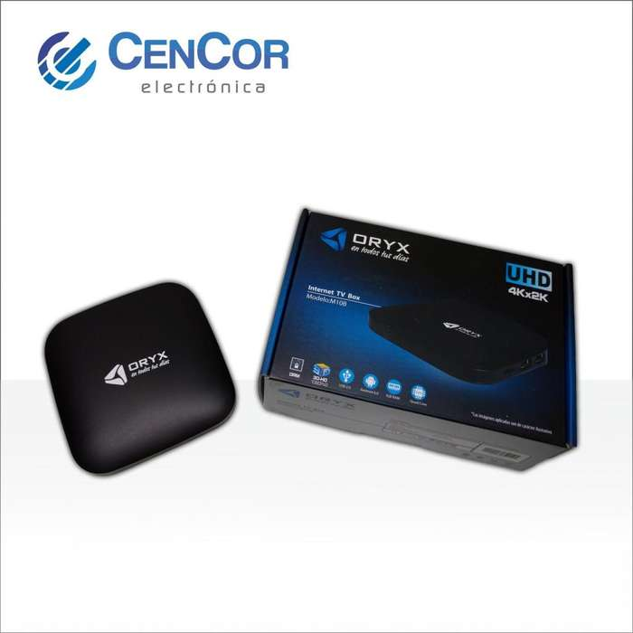 Tv Box Oryx! convertí tu TV en Smart! Android! CenCor Electrónica