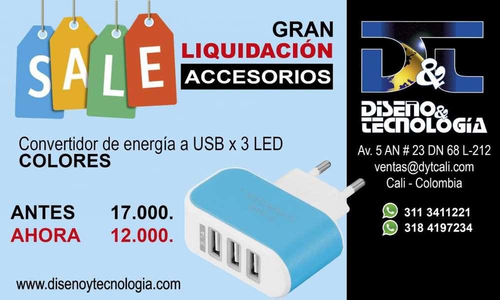 CONVERTIDOR DE ENERGÍA A USB ANTES 17.000 AHORA 12.000