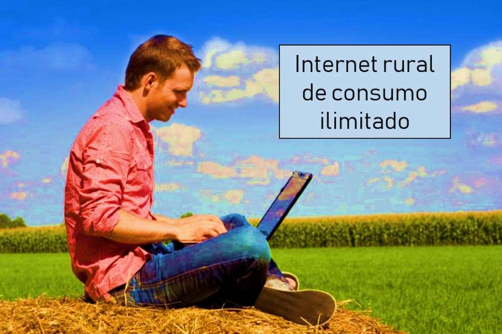 INTERNET RURAL - INTERNET PARA FINCAS - WIFI ILIMITADO RURAL