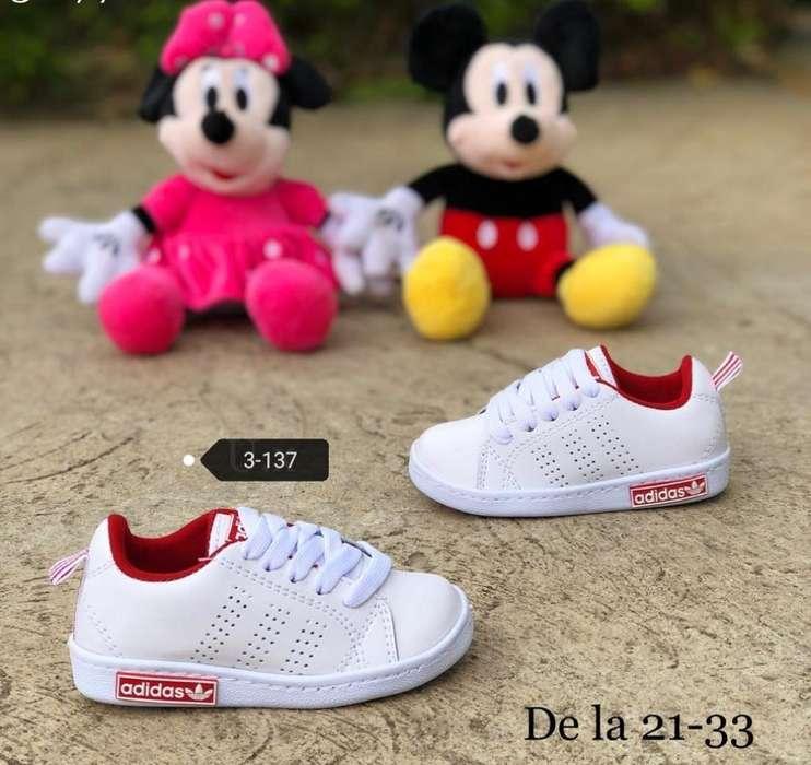 Zapato Tennis Adidas Niños